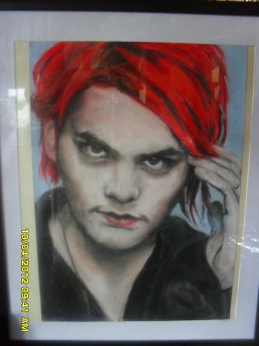 Gerard Way por rebeldiamond
